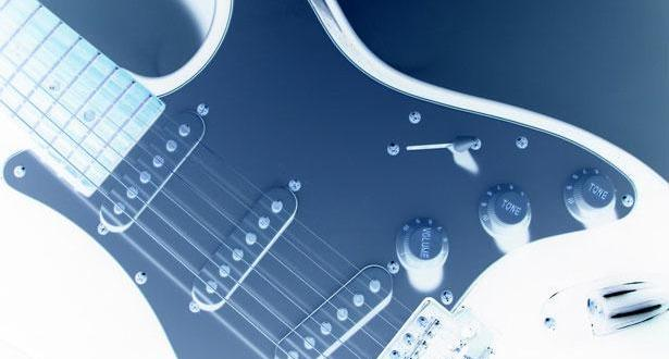 Guitar with a negative filter