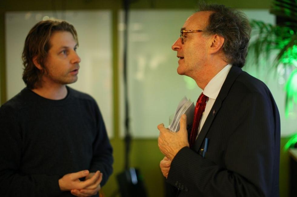 Martijn Aslander en Alexander Rinnooy Kan over slimmer werken