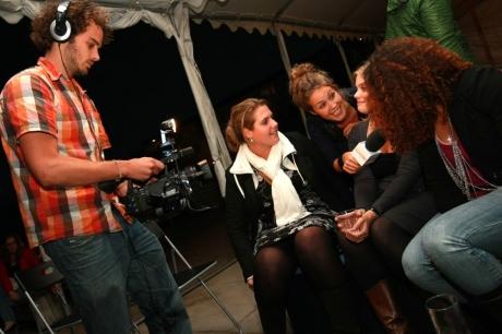 vinex beachborrel 2010 cameraman en interviewer