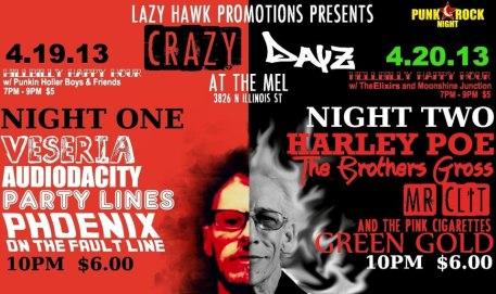 Crazy Days poster