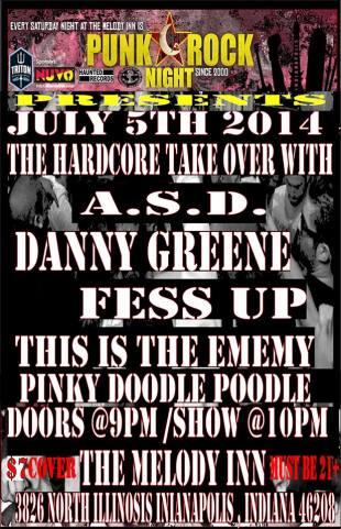 PRN July 5 hardcore
