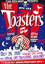 TOASTERS WEB POSTER 10-26-13