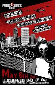 Ska Punk: Dissonance & Dissent, Dirty Reggae Punx, Coolidge, DJ Cabby @ The Melody Inn | Indianapolis | Indiana | United States