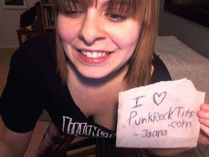 Jaana Ruutu freeones Finnish busty camgirl