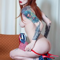 Razor Candi is Feeling Patriotic on July 4th