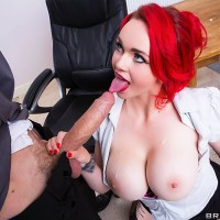 Jasmine James Takes on a Huge Cock in Class