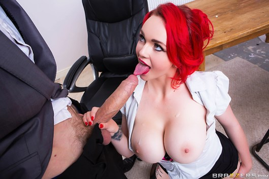 jasmine james testing the teacher busty british tattooed big tits redhead big dick pale brazzers blowjob