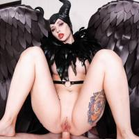 Maleficient Loves To Fuck - Purple Bitch