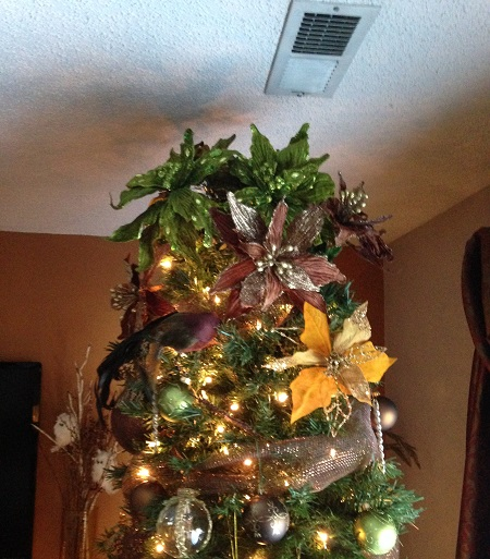 Floral Tree Topper!