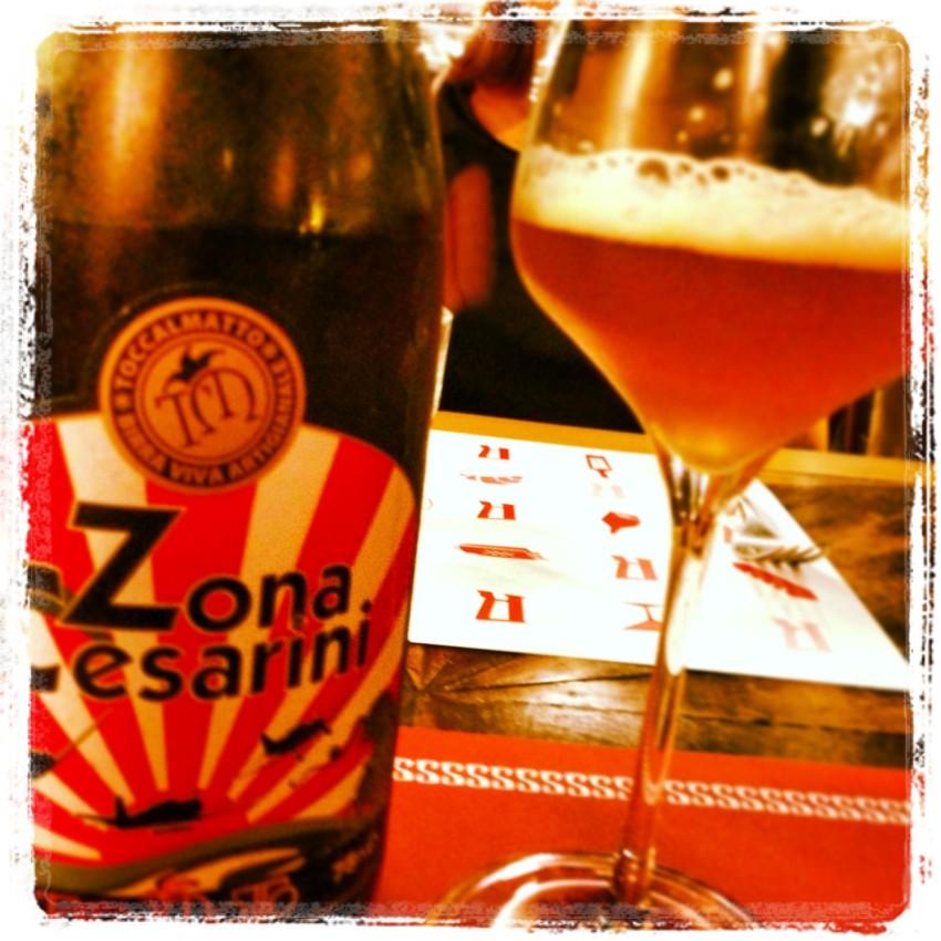 zona cesarini, birra toccalmatto by puntarella rossa