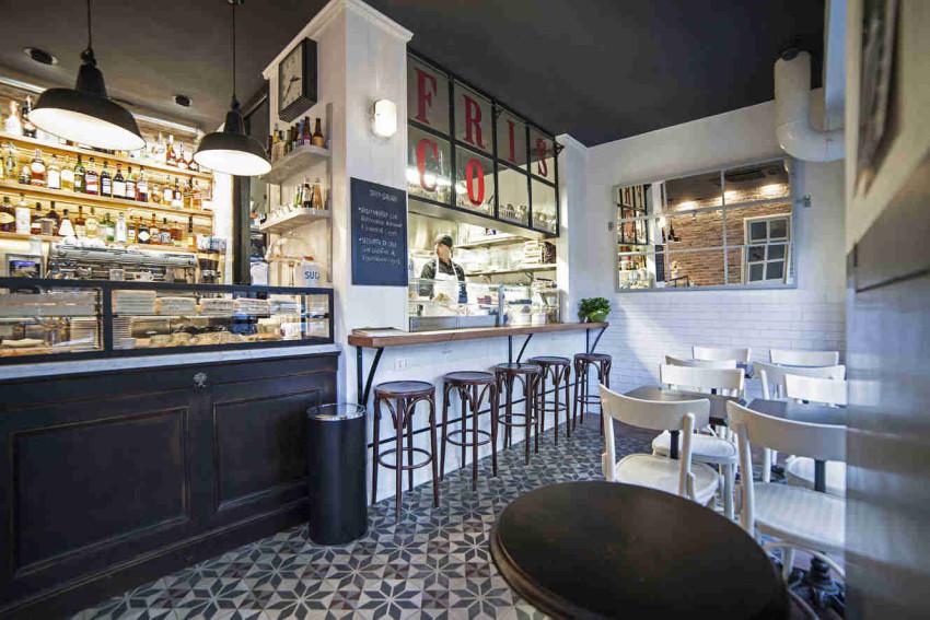 frisco bar roma_Cucina a vista_7