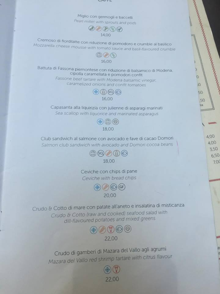 Puntarella Rossa Illy CAffé antipasti