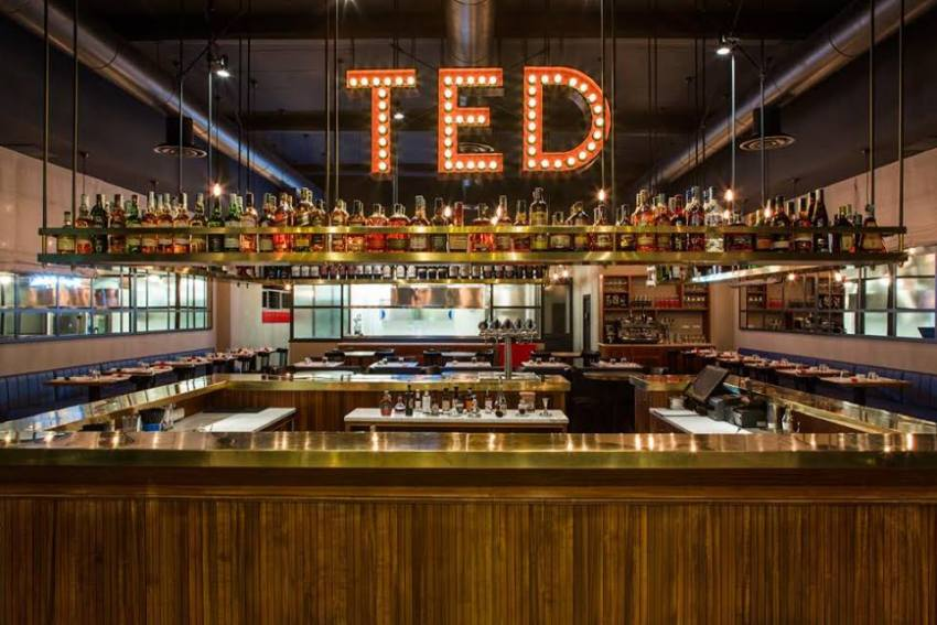 ted roma lobster bancone