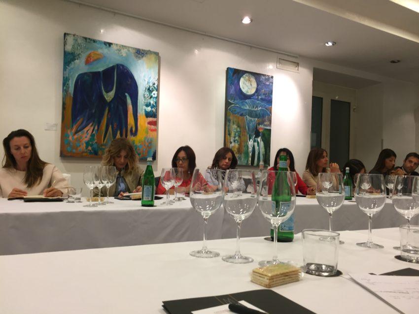 Corso di vino Puntarella Rossa La Griffe partecipanti