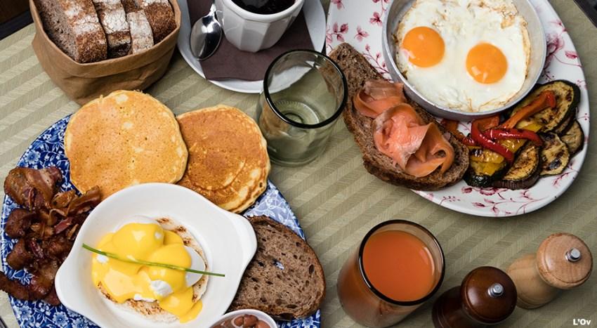 L'ov, brunch con uova