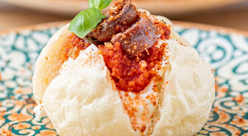 Piatti e pizze creative nel menu di Saporè a Milano