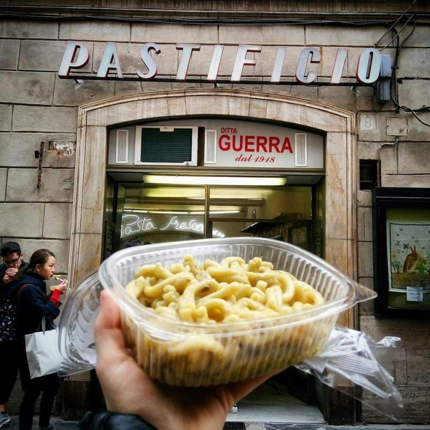 La mejor comida callejera de Roma
