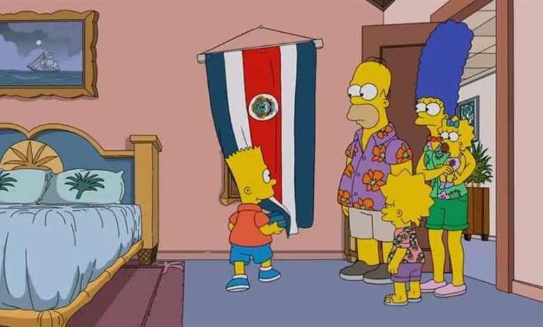 Photo of Observe aquí el episodio de Los Simpson en Costa Rica en español