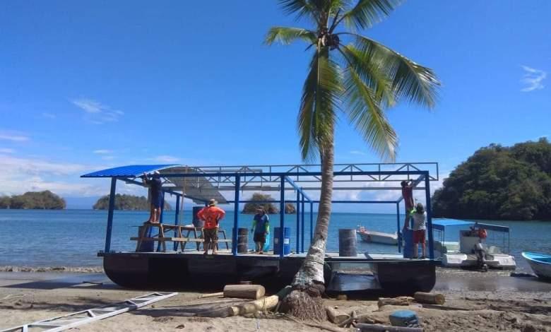 Photo of Muy pronto inaugurarán el primer restaurante flotante administrado por mujeres en Paquera