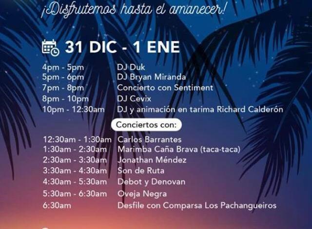 Photo of Puntarenas tendrá varias horas de diversión este fin y principio de año