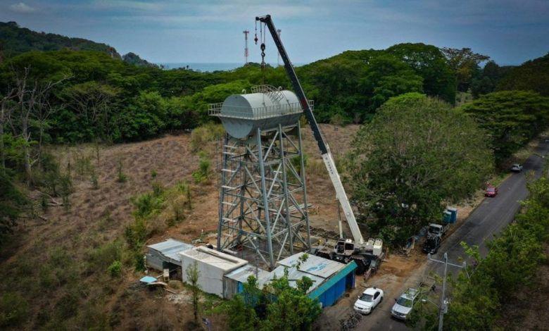 Photo of Tanque de agua potable en Tárcoles tiene un 75% de avance