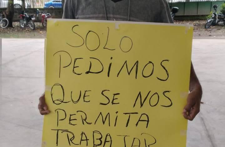 Photo of Paquereños amenazan con tirarse a las calles si la alerta naranja no es levantada pronto