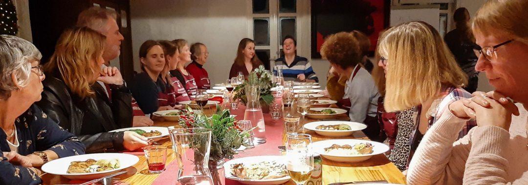 Samen aan tafel