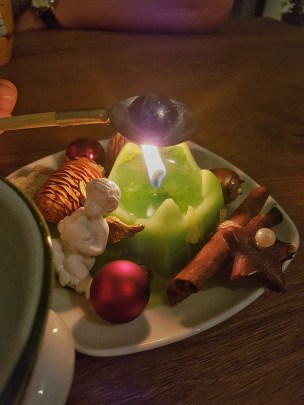 Silvesterblei e candela