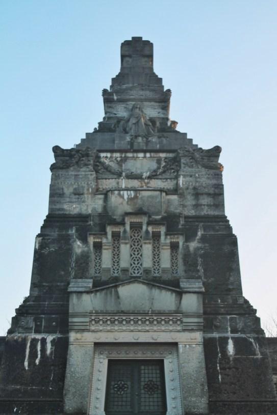 Il mausoleo della famiglia Crespi