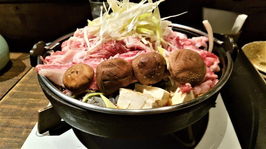 Sukiyaki a Kyoto