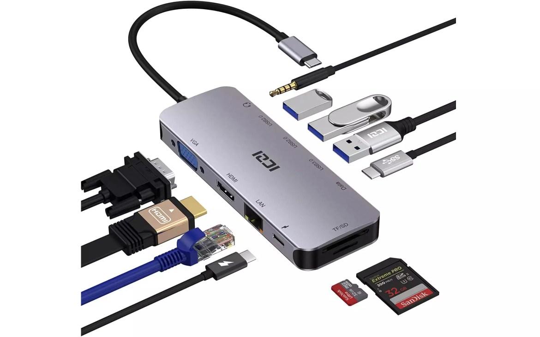 HUB USB Type-C Iczi - 2