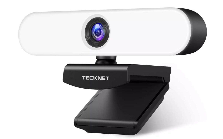 Webcam Tecknet HD 1080p LED touch - 2