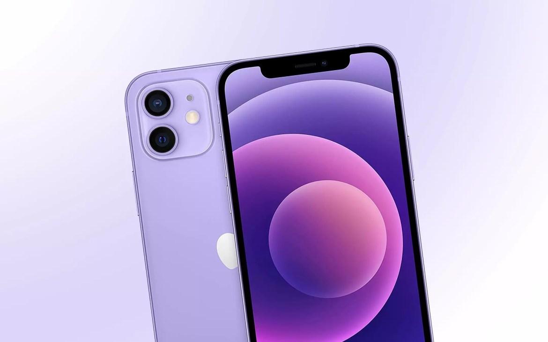 iPhone 12 viola