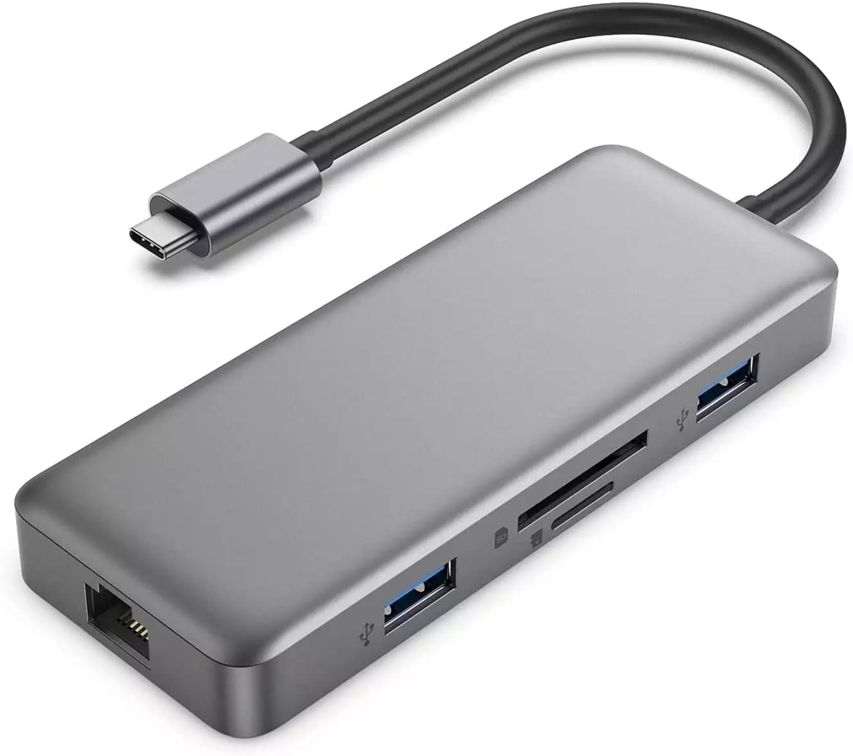 HUB USB Type-C 8 in 1 Fakeme - 2