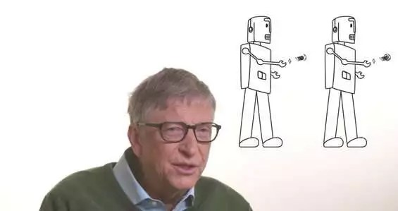 Gates tasse sui robot