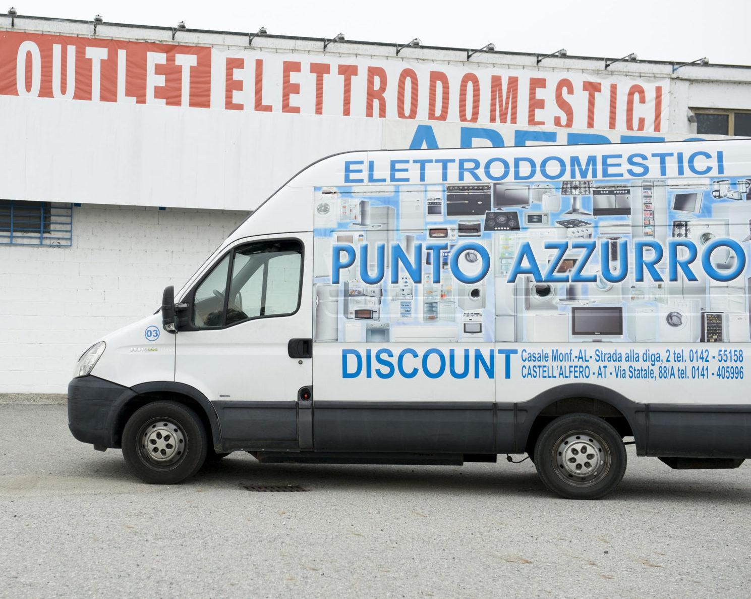 Consegne - Punto Azzurro Elettrodomestici