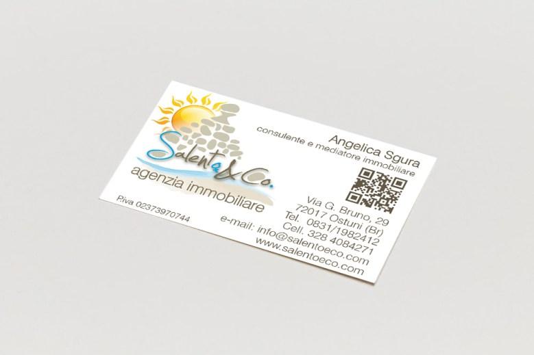 Progettazione grafica biglietto da visita