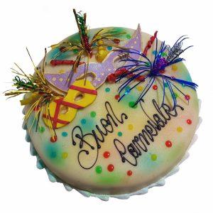 consegna a domicilio torta carnevale online