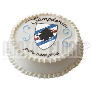 Torta Squadra del cuore Sampdoria