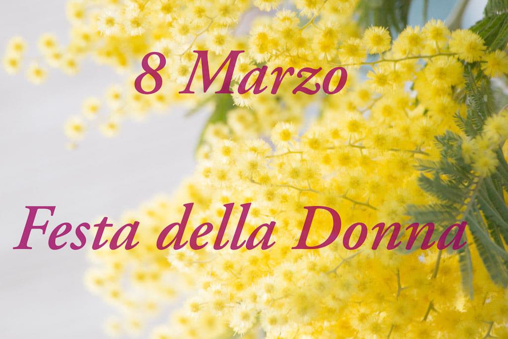 Mimosa 8 Marzo Festa della Donna online Blog