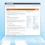 FreshPress, theme igual al panel de administración de WordPress 2.5