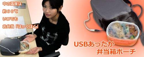 Bolso calienta comidas USB