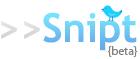 Snipt: para compartir código en Twitter