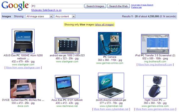 PC - Google Image Search