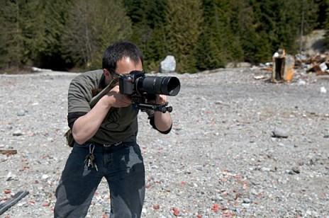 Disparando con una Nikon D200