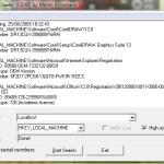 LicenseCrawler, rastrea el registro buscando todos los seriales de tus aplicaciones