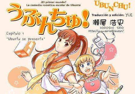 Ubunchu, el manga de Ubuntu