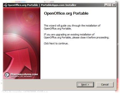 Instalador de OpenOffice.org Portable