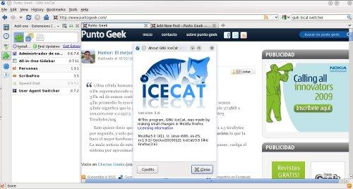 IceCat - GNU Browser