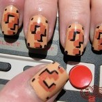 Ultra Geek: Uñas pintadas al estilo Super Mario